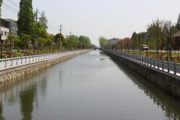 潜江市园林城区北片水系连通工程